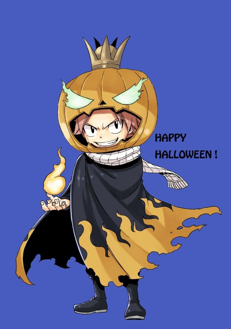 Fairy tail hiro mashima vous souhaite un joyeux halloween - Image de natsu fairy tail ...