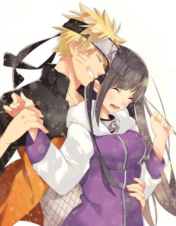 Dessin ninja naruto uzumaki amoureux hinata hyuuga par koyuru - Dessin naruto manga ...