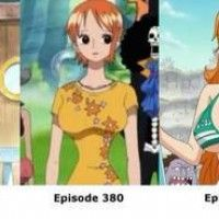 Evolution de la poitrine de Nami One Piece