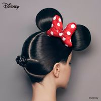 coiffure Minnie Mouse Disney art YUNI YOSHIDA