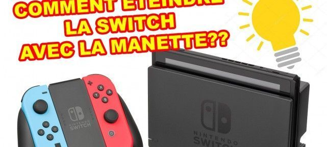 comment-eteindre-switch-nintendo-manette
