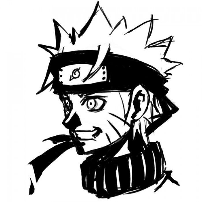 Fanart portrait de naruto - Naruto facile a dessiner ...